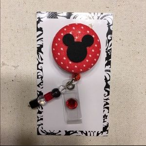 🆕 Mickey Mouse Badge Holder